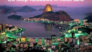 Brazil Travel Guide - Dos And Donts