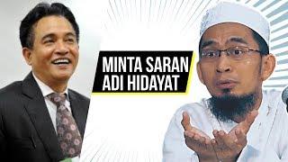 Video Pengacara Ini Minta Saran Dari Ust. Adi Hidayat - Ustadz Adi Hidayat LC MA MP3, 3GP, MP4, WEBM, AVI, FLV Mei 2018
