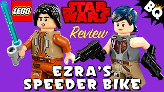 LEGO Star Wars Rebels Ezra's Speeder Bike 75090 Review