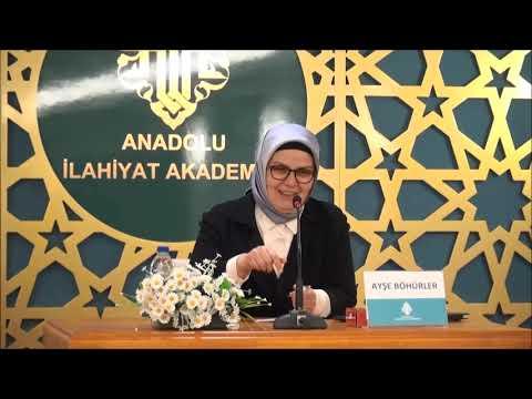 Ayşe BÖHÜRLER / Cumartesi Konferansları - II / İslam Siyaset ve Kadın