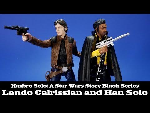 Star Wars Black Series Han Solo and Lando Calrissian Review Hasbro