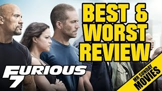 FAST AND FURIOUS 7 Review - Best&Worst Of