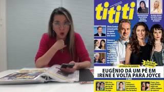 TV TITITI: Eugênio dá um pé em Irene e volta para Joyce
