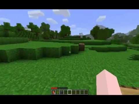 Minecraft Tutorial 2 wie man eine Rüstung und Waffen baut  - Fleisch bekommt German