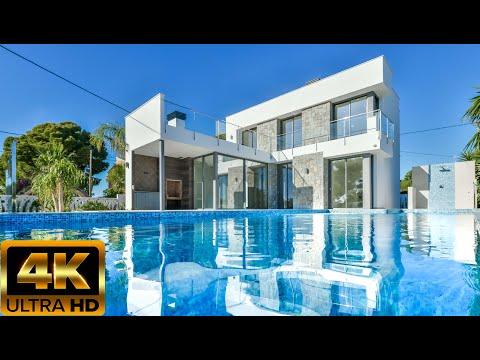 1500000€/Вилла в Испании/1 линия моря/Купить элитный новый дом/Хайтек/Недвижимость в Кальпе/Премиум