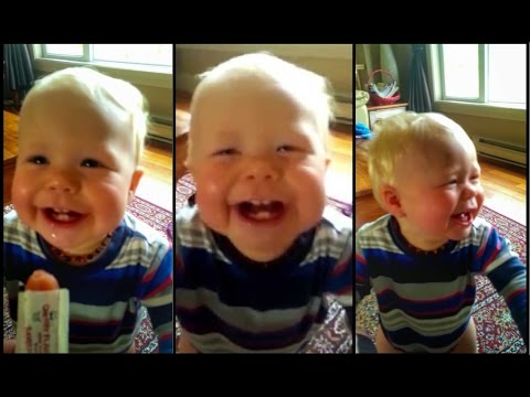 This Baby Thinks His Dad's Hilarious!
