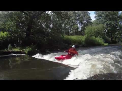 Testvideo: Midland XTC-300 beim Playboating
