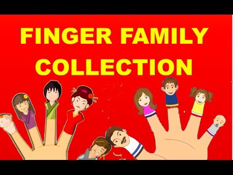 Finger - Finger Family Collection(Daddy Finger) :15 Finger family collection - To watch all our popular nursery rhymes click on the playlist http://bit.ly/1iFbGQb. Fo...
