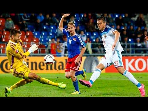 Russia - Liechtenstein 7-0 / 08.09.15  Euro 2016 Qualification