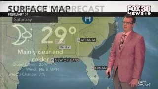 Weather for February 3, 2017