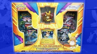Opening a BRAND NEW Alolan Raichu Figure Collection Box of Pokemon Cards! by The Pokémon Evolutionaries