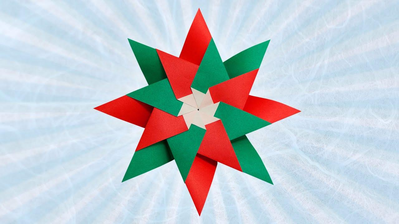 Holiday origami