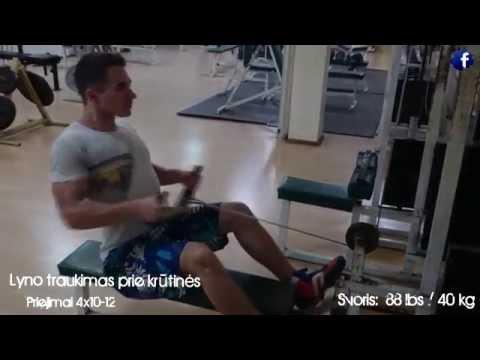 Nugaros ir pečių treniruotė – pratimai tvirtai nugarai