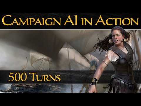 Total War: Rome 2 - Campaign AI in Action! - 500 Turns Grand Campaign
