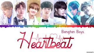 Video BTS (방탄소년단) 'Heartbeat (BTS WORLD OST)' 💜 Lyrics [Color Coded Han_Rom_Eng] | minamochi MP3, 3GP, MP4, WEBM, AVI, FLV Juli 2019