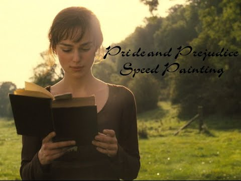 Keira Knightly - Elisabeth Benet - Pride and Prejudice - SpeedPainting
