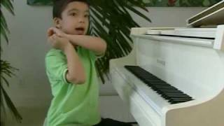 Ethan Bortnick Piano Prodigy Is Only 7 Years Old!-Artstreet Miami