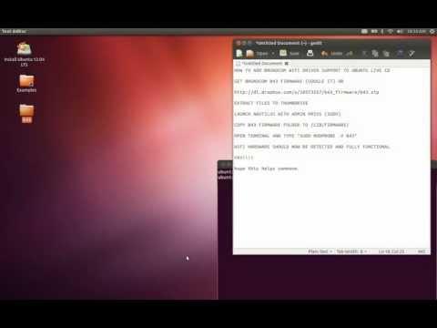 comment installer b43-fwcutter