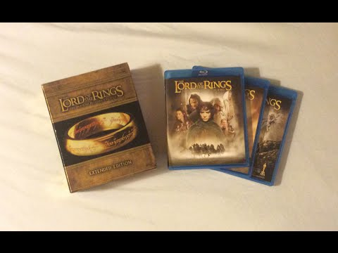 The Lord Of The Rings: Extended Edition Trilogy (2001-2003) Blu Ray Review And Unboxing