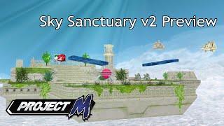 Competitive Custom Stage – Sky Sanctuary Zone V2