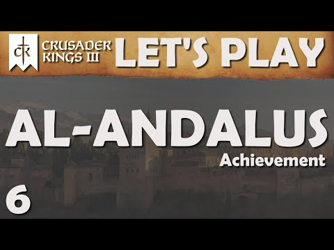 Crusader Kings 3 – Let's Play – Al-Andalus – Ep. 6 (Strategy Session)