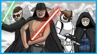 Star Wars Battlefront Launch Funny Moments! - Funny Gestures, Luke Skywalker, and Ewok Hunt!
