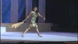 IJM Finals 2010 Miss Winner  Mikaya Thurmond In Fun Fasion