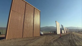 Video Trump Border Wall Prototypes Put to the Test in Southern California MP3, 3GP, MP4, WEBM, AVI, FLV Januari 2018