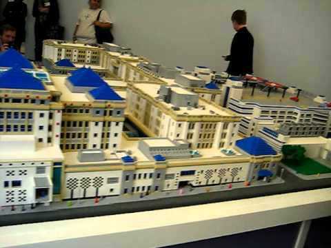 LEGO model of Cook Children's Medical Center, Ft. Worth, TX