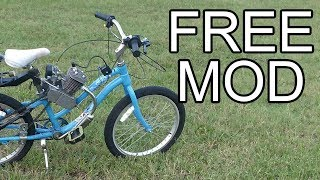 How to Make a Motorized Bike Faster and Louder for FREE