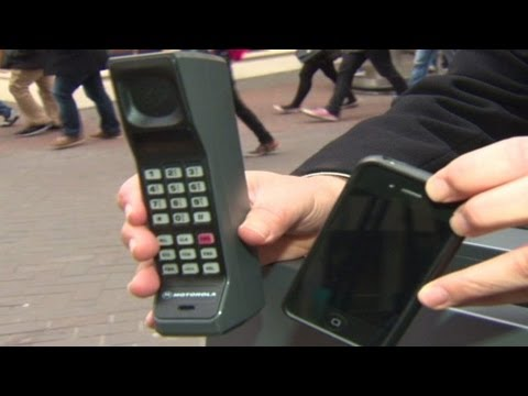 Mobile Phone - CNN'S Jim Boulden looks back to the first mobile phone call made 40 years ago.