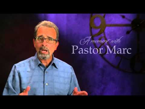 "A Moment with Pastor Marc #35<br /><strong>""Trouble""</strong>"