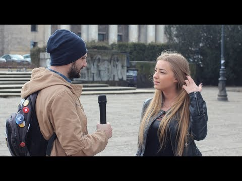 """Na ulicach Warszawy pytał kobiety czy usunęłyby dziecko """"homo sapiens"""" ! Odpowiedzi szokują!"""