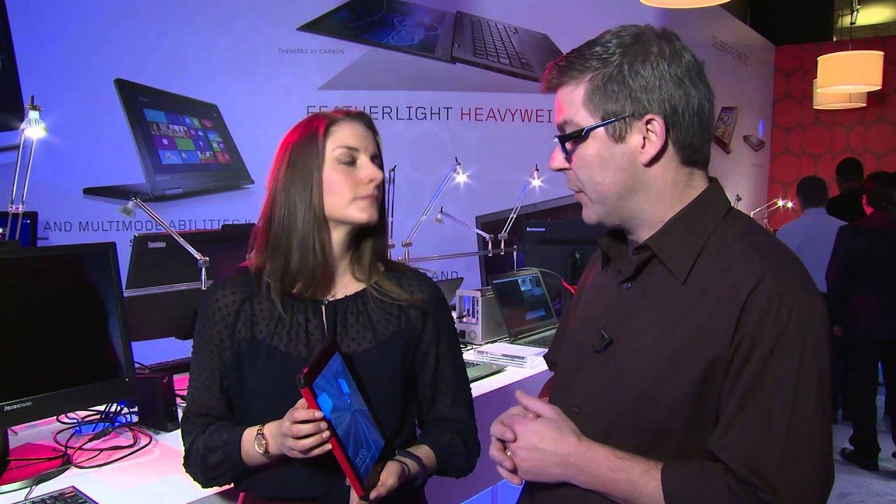 Lenovo Hands On: ThinkPad 8