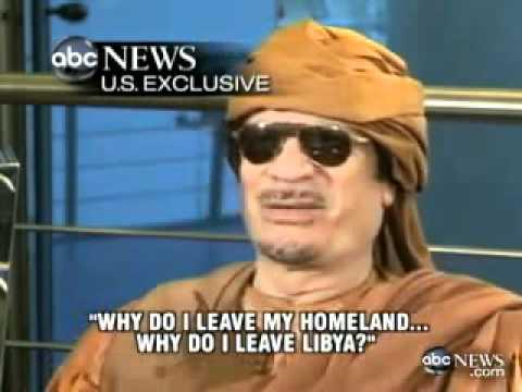 Kadhafi won't leave Libya.mp4