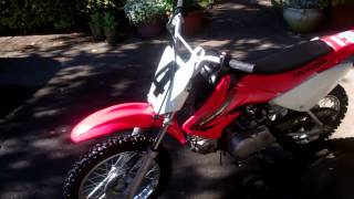8. Honda CRF70F 2005 in mint condition