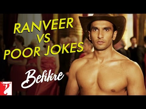 Ranveer vs Poor Jokes | Behind The Scenes | Befikre | Ranveer Singh | Vaani Kapoor
