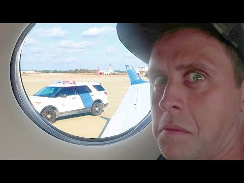 PULLED OVER IN PRIVATE JET!!