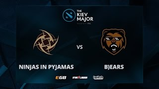 NiP vs B)ears, Game 1, The Kiev Major EU Main Qualifiers Play-off