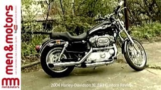 8. 2003 Harley-Davidson XL 883 Custom Review