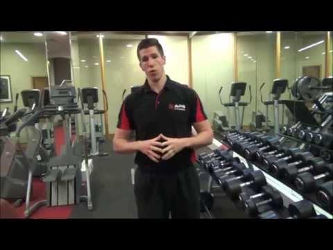 Seated Dumbell Shoulder Press Instruction