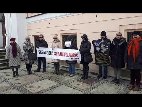 Wideo1: Apel milczenia na leszczyńskim Rynku
