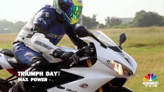 8. Triumph Daytona 675R - On Track