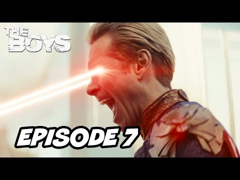 The Boys Season 2 Episode 7 - Homelander Stormfront TOP 10 WTF and Easter Eggs