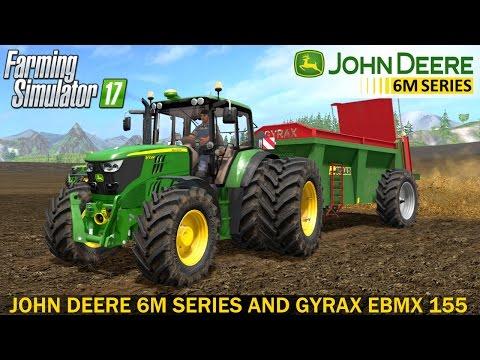 John Deere 6M series (6115M, 6135M, 6155M) v1.2