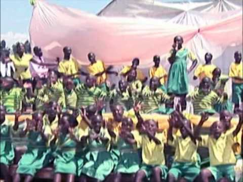 CA Kabale children performing on stage