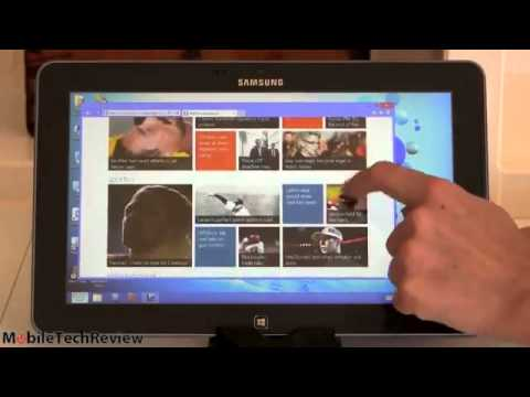 Samsung ATIV Smart PC 500T Windows 8 Tablet Review