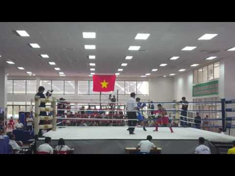 CK 52kg VĐQG 2016: Nguyễn Gia Kiên (HN) vs Trần Văn Thảo (HCM)