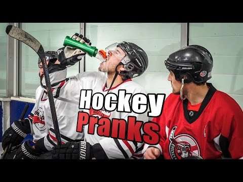 Hockey Pranks and Jokes (видео)