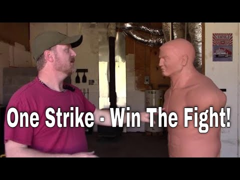 How to Knock Somebody Out With One Strike
